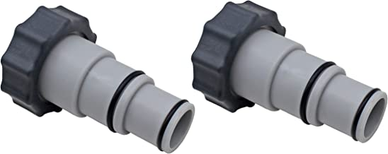 State Warehouse Replacement Hose Adapter w/Collar for Threaded Connection Pumps Replace for Intex fit for All 4000, 2500, 2000 &1500 Gallon per Hour Filter Pumps &Chlorine generators and Salt Systems