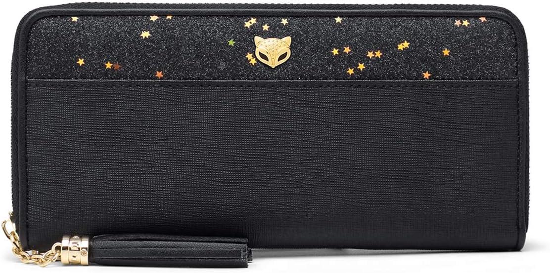 Women Leather Long Wristlet Super popular specialty store Wallet C Lady Fashion Ranking TOP8 Elegant Clutch
