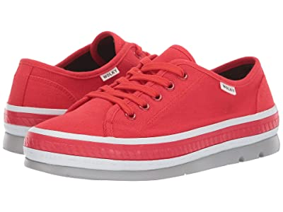 Wolky Linda (Red Canvas) Women