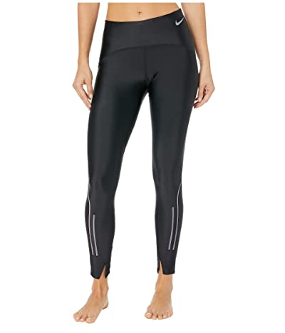 Nike Speed Tights 7/8 (Black/Gunsmoke) Women