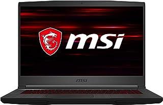 "LAPTOP GAMING MSI GF65 Thin 10SDR-659MX 15.6"" FHD, IPS, NVIDIA GEFORCE GTX1660TI MAX-Q 6GB, INTEL CORE i7-10750H, RAM 8GB,..."