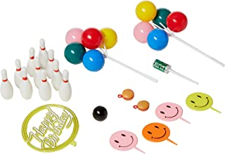 Oasis Supply Bowling Birthday Strike Party Cake Topper Kit