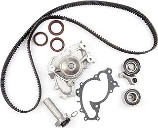 ECCPP Timing Belt Water Pump Kit Fits for 1994-2004 Toyota Camry Avalon Sienna Solara Lexus ES300 RX300 3.0L V6 DOHC 24V Engine 1MZFE