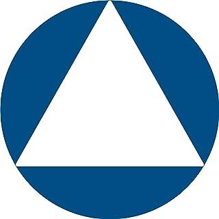 ADA All Gender Unisex Restroom Door Sign, California Title 24 Compliant, 12