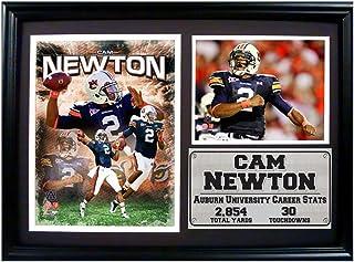 Encore Select 129-13 NCAA Auburn University Framed Cam Newton Print, 12-Inch by 18-Inch
