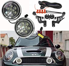 Mini Cooper Led Rally Light Super Bright - NSLUMO Led Halo Ring Daytime Running Light DRL with Halo Ring For Mini Cooper R50 R52 R53 2001-2006 Daytime Driving Led Lamp Projector