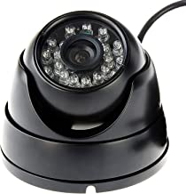 SVPRO Outdoor Waterproof 1080p Full HD Night Vision CCTV Surveillance Mini High Speed 30/60/120fps OV2710 CMOS Dome USB Camera Android(3.6mm with ir Cut&IR LED&Dome case)