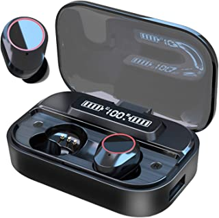 $45 » Sponsored Ad - GO5 Mini Wireless Earbuds Bluetooth Headphones Premium Fidelity Sound Quality Wireless Charging Case Digita...