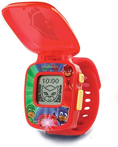 VTech-80-175857 PJ Masks Buhita, Reloj Digital Educativo Que estimula el Aprendizaje e incorpora minijuegos y Activid...