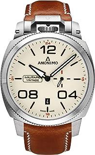 Anonimo - Militare Reloj para Hombre Analógico de Automático con Brazalete de Piel de Vaca AM102101001A02