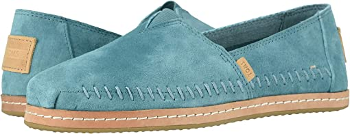 TOMS Sky Pig Suede Leather Wrap