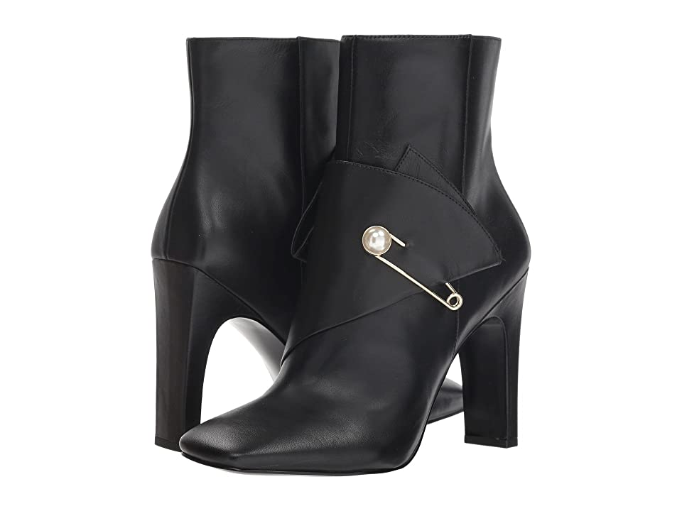 Nine West Quitit (Black Leather) Women