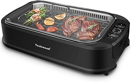 Techwood-Smokeless-Grill-1500W-indoor-Grill-with-Tempered-Glass-Lid