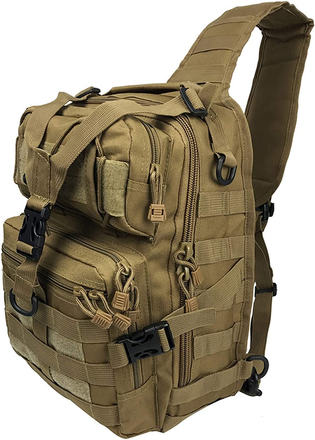 Military Pack Backpack Army Waterproof Shoulder Bags Small Rucksack Outdoor Hiking Camping