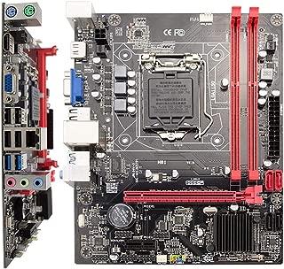 dissylove MS-H81IL M.2 for Intel H81 LGA 1150 Pins i3 i5 Socket Desktop Computer Mainboard Motherboard SATA 6Gb/s USB 2.0 Games DDR3 Intel LGA1150 Mini-ITX
