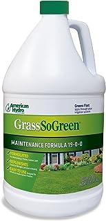 American Hydro Systems 2655 GrassSoGreen Fertilizer, Maintenance Formula 19-0-0, 1 Gallon