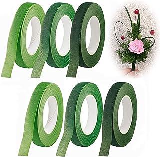 6 PièCes Ruban de Fleuriste Kit D'Outils de Composition Florale Rouleaux Ruban Tige Fleur Rubans Floraux Fil Floral pour B...