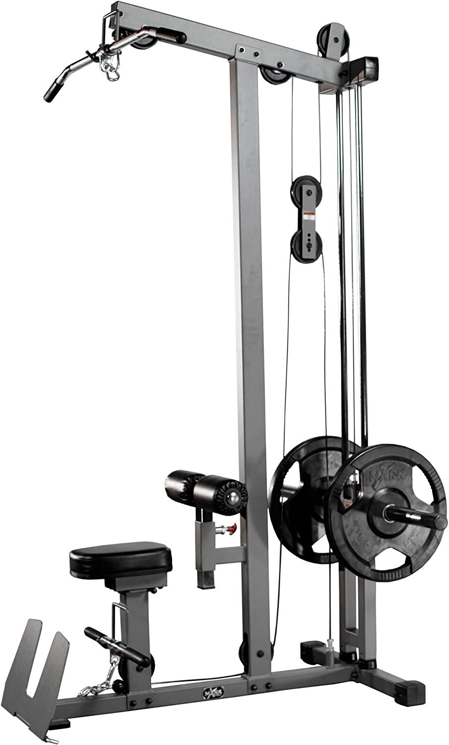 XMark Heavy Duty LAT Pulldown Import and Dallas Mall Hig Cable Row Low Machine with