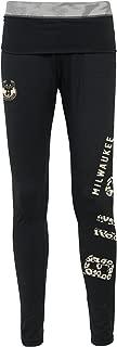 NBA Milwaukee Bucks Juniors Outerstuff Elastic Heart Legging, Black, X-Large (15-17)