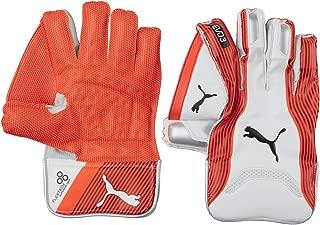 Puma, Cricket, Evo 3 Wicket Keeper Gloves, Boy, Fiery Coral/White