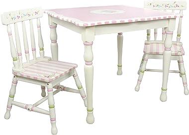 Fantasy Fields TD-0046A/1 Kids Table, 71.12x71.12x62.23 cm, White/Pink - Bouquet