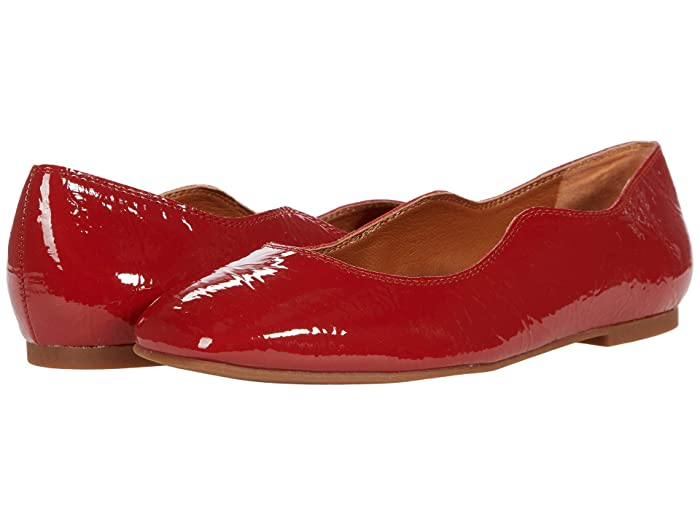 Vintage Shoes, Vintage Style Shoes Lucky Brand Dellie Rancho Red Womens Shoes $68.95 AT vintagedancer.com