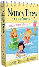 Nancy Drew Clue Book Mystery Mayhem Collection Books 1-4: Pool Party Puzzler; Last Lemonade Standing; A Star Witness; Big Top Flop