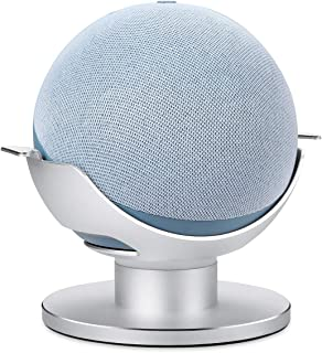 Stand for Echo Dot 4th Gen, AutoSonic Adjustable Stand Mount Accessories Compatible with Amazon Echo Dot 4th Gen, Aluminum...