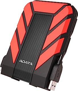 ADATA HD710 Pro - 1 TB, externe harde schijf met USB 3.2 Gen.1, IP68-beschermingsklasse, rood, duurzaam, waterdicht en sto...