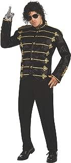Michael Jackson Costume Black Sequin Military Jacket