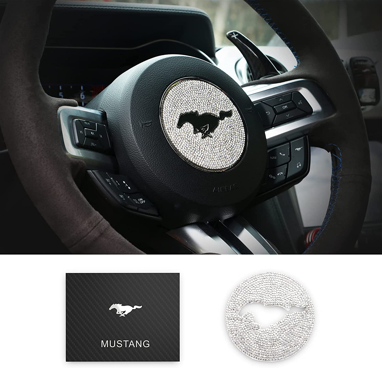 MEEAOTUMO Steering Wheel Bling Crystal Shiny trend rank Diamond Ranking TOP2 St Interior