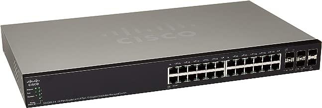 Cisco SG500X-24-K9 Layer 3 Switch (Renewed)