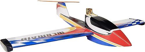 Arkai Mermaid Wasserflugzeug Rasenrutscher - 1200 mm SpannWeiße (Rot   Blau)