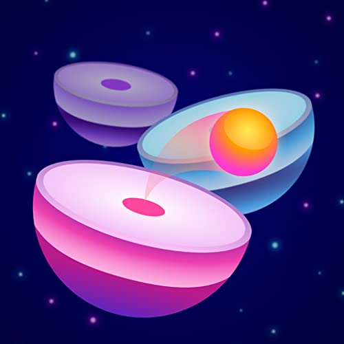 Neon Tiled Jump - Bounce Hop Rush: Twist Color Ball Game