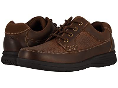 Nunn Bush Cam Oxford Casual Walking Shoe (Brown Crazy Horse) Men