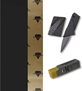 TGM Skateboards Black Diamond Longboard Griptape 10