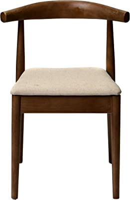Commercial Seating Products WM-201-Midcent-DW Style Kent Stackable Solid Wood Mid