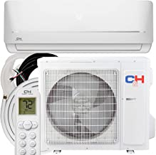 COOPER AND HUNTER 12,000 BTU, 115V Ductless Mini Split AC/Heating System Pre-Charged Inverter Heat Pump with 16ft Installation Kit