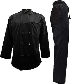 Men's Chef Uniform Set - Chef Coat and Pants