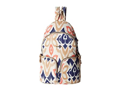 Pacsafe Stylesafe Anti-Theft Sling Backpack (Ikat Coral) Backpack Bags