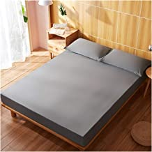 Mattress Protector Extra Deep 30 cm Breathable Mattress Cover with Adjustable Buckle Waterproof Sweat Absorption Non Slip...