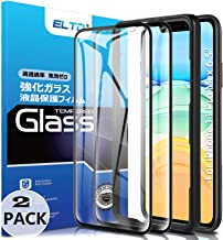 ELTD 2 Pack HD Full Coverage Tempered Glass Screen Protector for iPhone 11 Pro Max 6.5 inch 2019/iPhone Xs Max 6.5 with Installation Frame,Case Friendly Screen Protector for iPhone 11 Pro Max