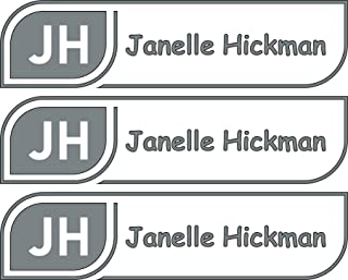 All-purpose, Custom Name Labels, Name And Initials, Multiple Colors And Sizes, Waterproof, Microwave And Dishwasher Safe, Washer And Dryer Safe, Custom Labels, Camp Labels, Custom Name Label For Camp