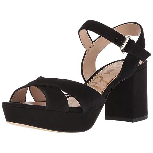 7eb6a84293d Women s Suede Platform Sandals  Amazon.com