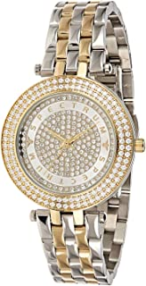 Spectrum Women's White Dial Stainless Steel Band Watch - 25155L-3