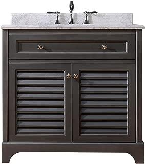 Ari Kitchen and Bath AKB-MADI-36-MPGR Madison Vanity Set, 36