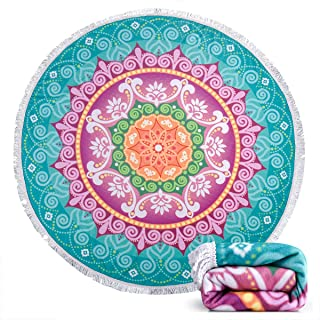 circle watermelon beach towel