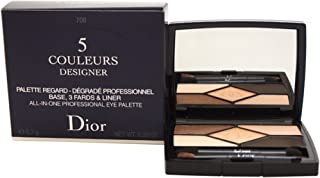 Christian Dior 5 Couleurs Designer All-In-One Professional Eye Palette, 708 Amber Design, 5.7 g
