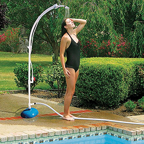 Poolmaster 52508 Poolside Portable Shower, Medium, Neutral