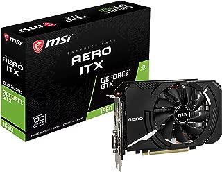 MSI GeForce GTX 1660 AERO ITX 6G OC グラフィックスボード VD6919